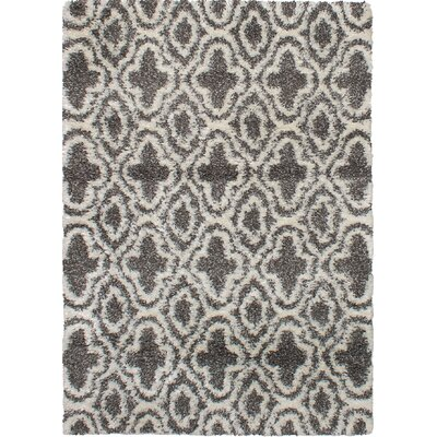 James Cream/Gray Area Rug