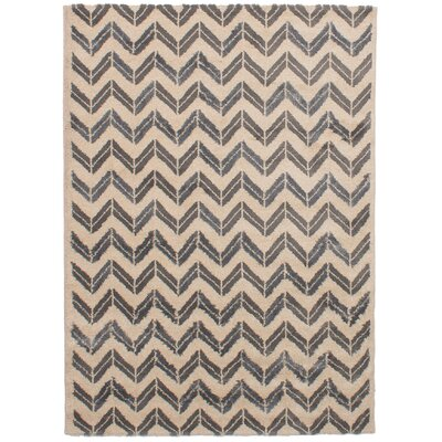 Freemont Beige/Dark Gray Area Rug