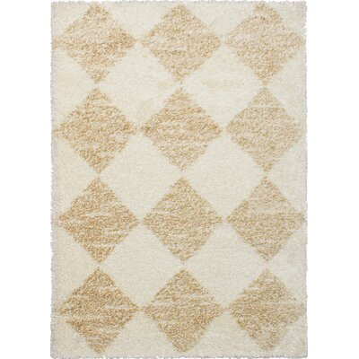 Boatner Cream/Tan Area Rug