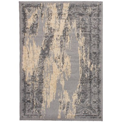 Crim Gray Area Rug