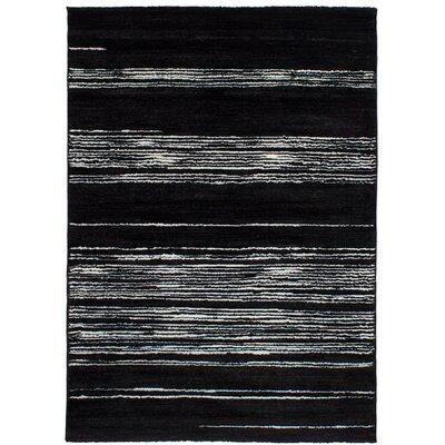Gentner Black Area Rug