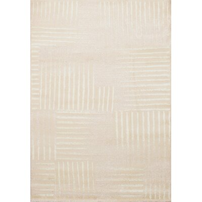 Costello Soho Shag Beige/Cream Area Rug