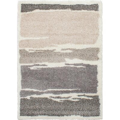 Hulsey Cream/Dark Gray Area Rug