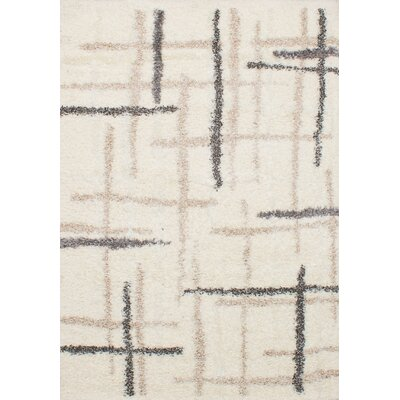 Chesterhill Mayan Shag Cream Area Rug