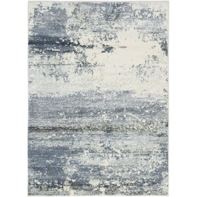 Gentner Cream/Dark Gray Area Rug