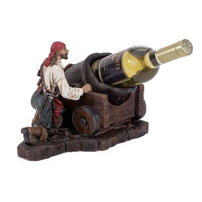 Bryd Pirate 1 Tabletop Wine Bottle Rack