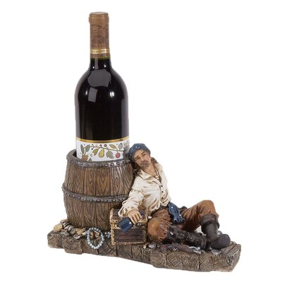Bryden Pirate 1 Tabletop Wine Bottle Rack