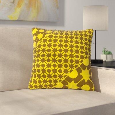 Nacho Filella Pop Vector Outdoor Throw Pillow Size: 16 H x 16 W x 5 D