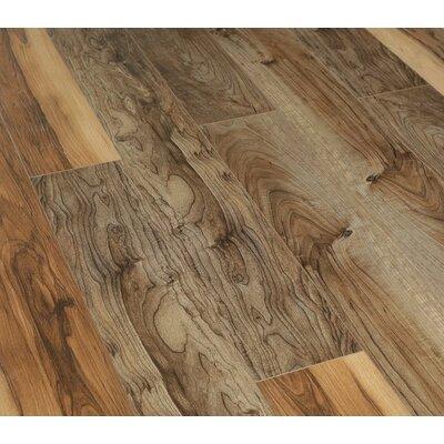 "Urban View 7"" X 49"" X 12mm Laminate Flooring In Brown (set Of 5)"