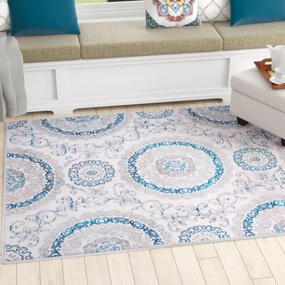 Arend Area Rug Rug Size: Rectangle 53 x 72