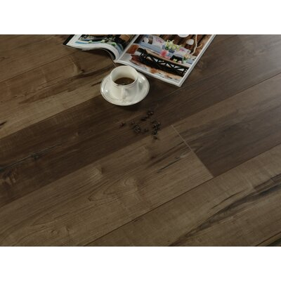 "Rare Species 8"" X 49"" X 12mm Laminate Flooring In Brown (set Of 4)"