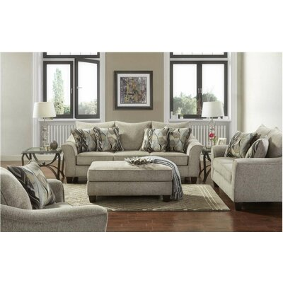 Hartsock 3 Piece Living Room Set