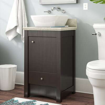 Alburgh Transitional 20 Single Bathroom Vanity Set Top Finish: Beige
