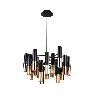 Anem 19-Light Candle-Style Chandelier