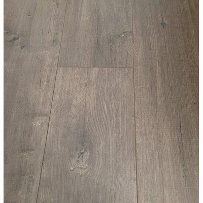 European Oak 8 x 49 x 12mm Laminate Flooring in Gray (Set of 4)