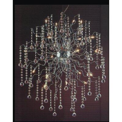32-Light Crystal Chandelier