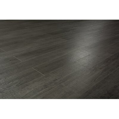 Pearl Leather 8 x 49 x 12mm Laminate Flooring in Gray (Set of 4)