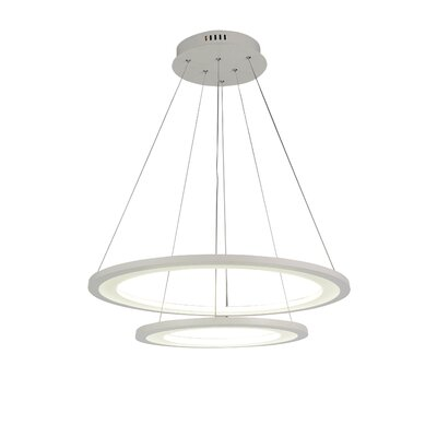 Alloha 2-Light LED Geometric Pendant