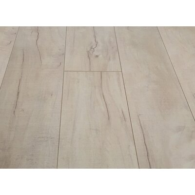 Huangshan Mountain 8 x 49 x 12mm Laminate Flooring in Gray
