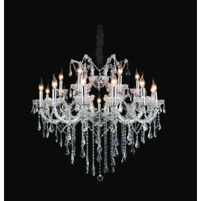 Maria Theresa 19-Light Candle-Style Chandelier
