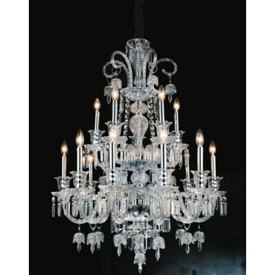 Joan 15-Light Candle-Style Chandelier