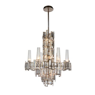 Quida 12-Light Crystal Chandelier