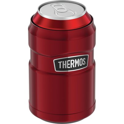 10-Ounce Stainless Steel Cooler Beverage Sleeve with 360� Drink Lid THRSK1500CR4