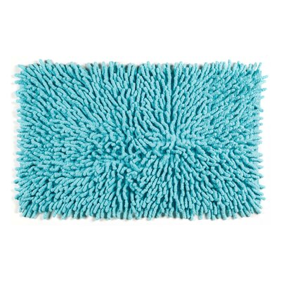 Jamaica Way Bath Rug Color: Aqua