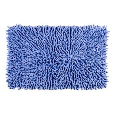 Jamaica Way Bath Rug Color: Blue
