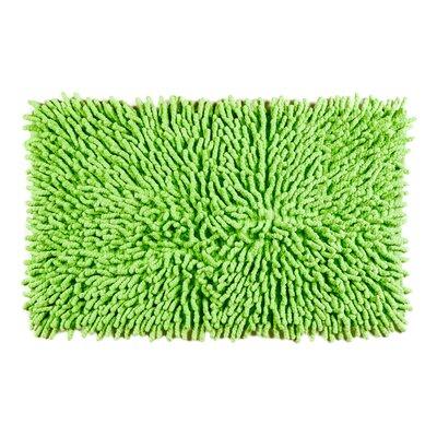 Jamaica Way Bath Rug Color: Green