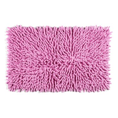 Jamaica Way Bath Rug Color: Pink
