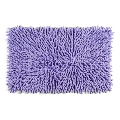 Jamaica Way Bath Rug Color: Violet