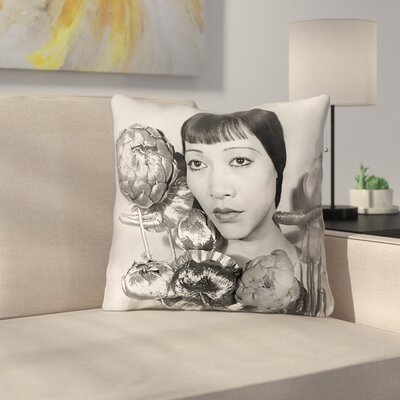Double Sided Print Pillow Cover Size: 14 x 14