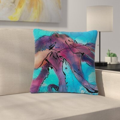 Josh Serafin Lets Move Outdoor Throw Pillow Size: 16 H x 16 W x 5 D