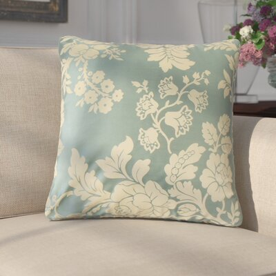 Donato Floral Cotton Throw Pillow