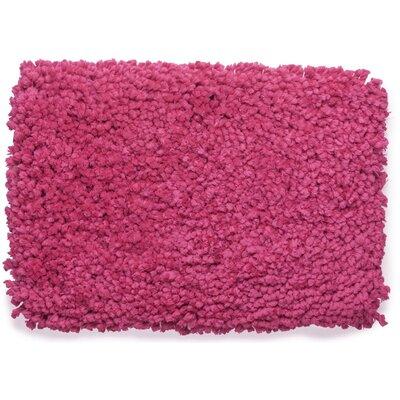Fairhill Absorbent 100% Cotton Bath Rug Color: Pink