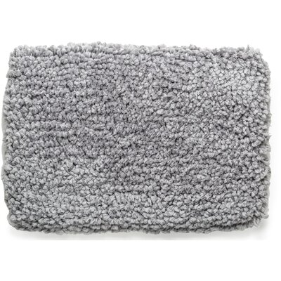 Fairhill Absorbent 100% Cotton Bath Rug Color: Gray