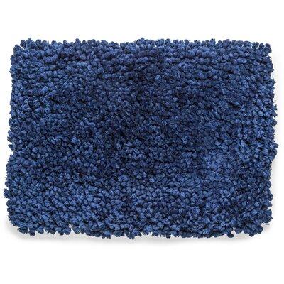 Fairhill Absorbent 100% Cotton Bath Rug Color: Blue