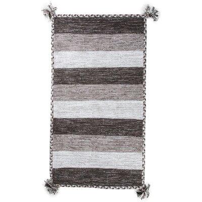 Pilcher Absorbent 100% Cotton Bath Rug Color: Brown