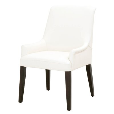 Cambell Genuine Leather Upholstered Dining Chair