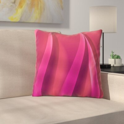 Petals by Fotios Pavlopoulos Throw Pillow Size: 26 H x 26 W x 5 D