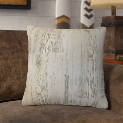 Vanderhorn Graphic Cotton Throw Pillow Color: Dove