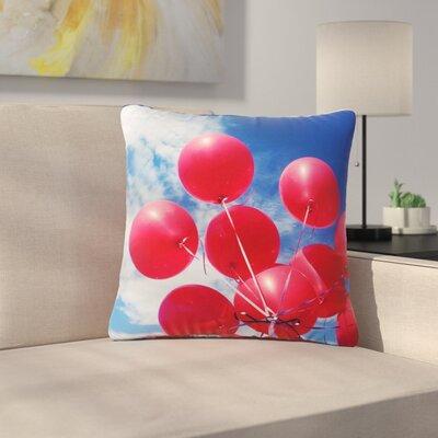 99 Love Outdoor Throw Pillow Size: 16 H x 16 W x 5 D