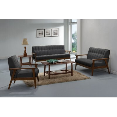 Aarhus Armchair Upholstery: Gray