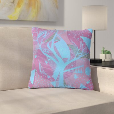 Marianna Tankelevich Dancing Shapes Outdoor Throw Pillow Size: 16 H x 16 W x 5 D