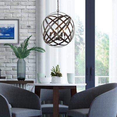 Comagna 4-Light Globe Pentdant