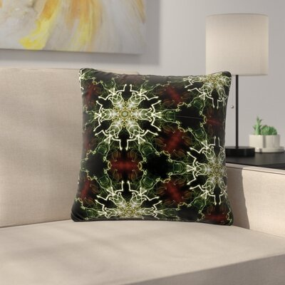 Gukuuki Mandala Lights Abstract Outdoor Throw Pillow Size: 16 H x 16 W x 5 D