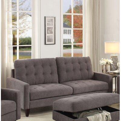 Cascio Sofa Upholstery: Gray