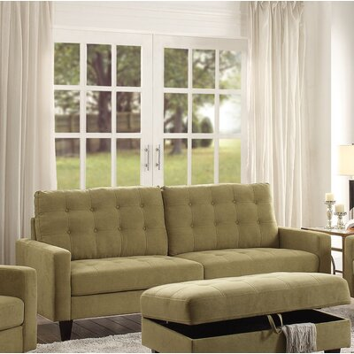 Cascio Sofa Upholstery: Mustard