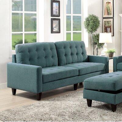 Cascio Sofa Upholstery: Teal